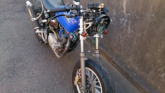 '14 7 25 ブレンボ製 ラジアルブレーキマスター換装 Reサイズ 04.jpg